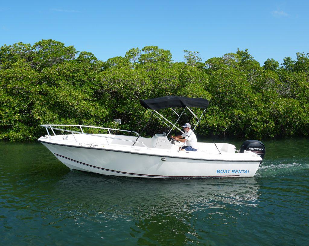 21 foot cape craft fishing boat rental