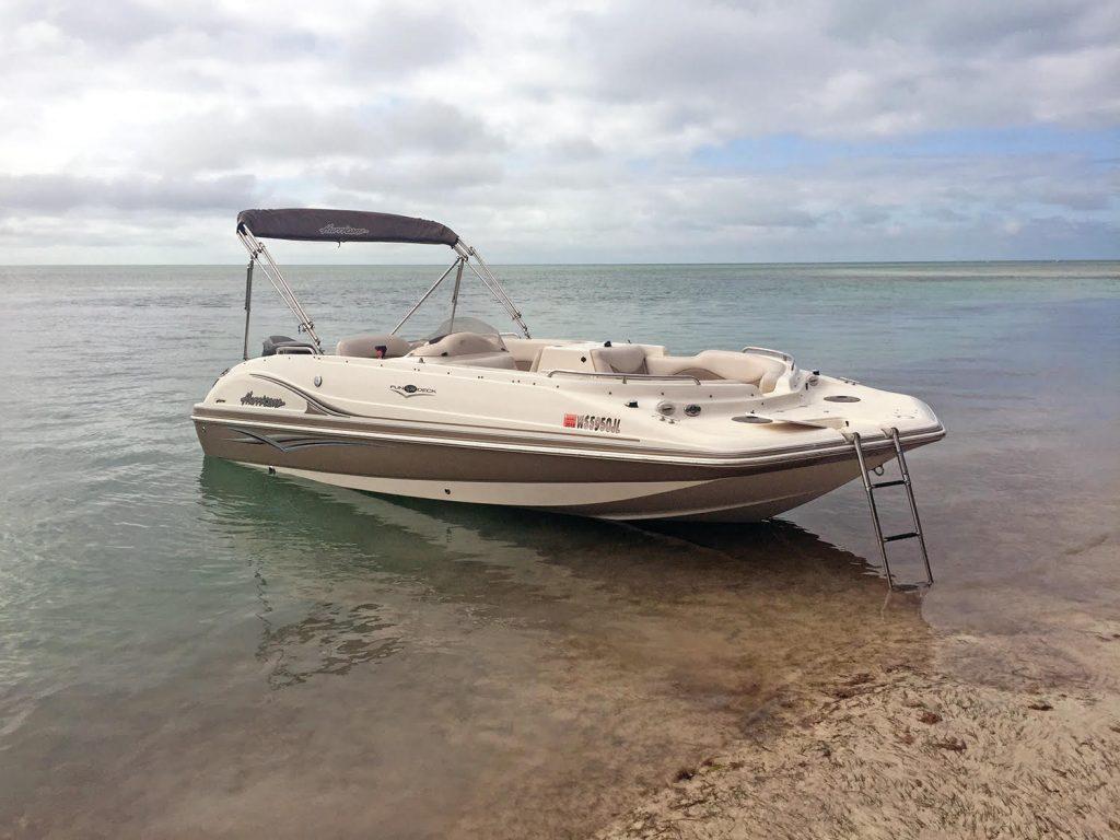 Deck boat rental key west